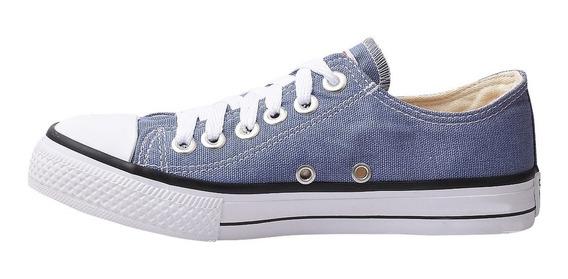 Tênis Converse All Star Ct Cano Baixo Azul Jeans