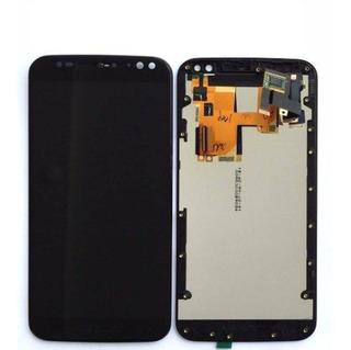 Frontal Motorola Moto X Style X3 Xt1570 Xt1572 Xt1575 Preto
