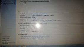 Notebook Core I7 Segunda Geração, Hd 500, 4gb Memória