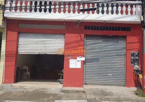 Salão Para Alugar, 44 M² Por R$ 800/mês - Parque Paraíso - Itapecerica Da Serra/sp - A3811