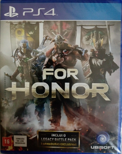 Game For Honor Ps4 (novo)