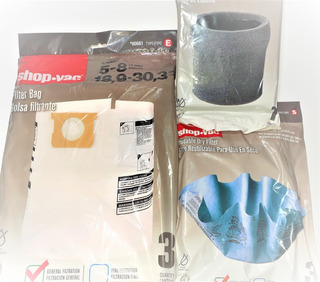 Paquete De Filtros Shop Vac 5 A 8 Galones Filtros Económicos