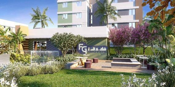 Apartamento Minha Casa Minha Vida Com 2 Dormitórios À Venda, 41 M² Por R$ 129.900 - Porto Tingui - Ap0893