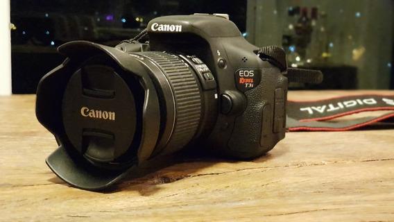 Câmera Canon Dslr T3i + Lente 18-55mm