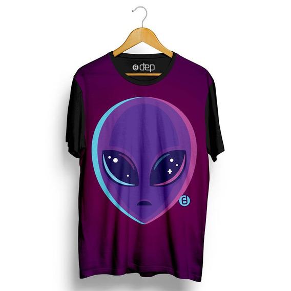 Camiseta Dep Alien Roxa