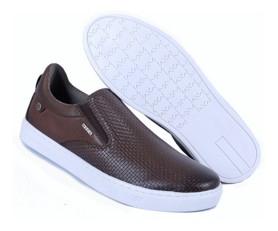 Tênis Slip On Iate Calce Facil Casual Sapatênis Black Friday