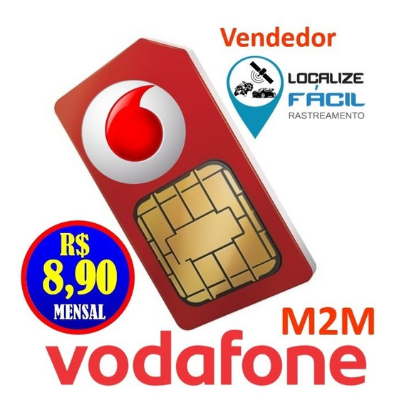 Chip M2m Vodafone Para Rastreadores E Telemetria