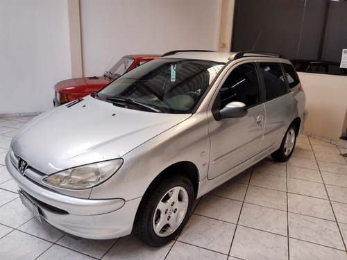 Peugeot 206 Sw 2006 1.6 16v Presence Flex 5p