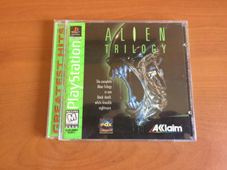 Alien Trilogy Ps1 + Manual