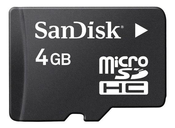 Cartão De Memória Micro Sd 4gb Sandisk Pronta Entrega
