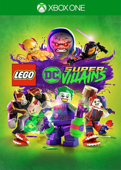 Lego Dc Super-villains Xbox One - 100% Original (25 Digitos)