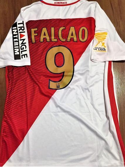 Camisa Do Monaco Final Copa Da França 2017 Falcao #9