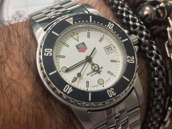 Tag Heuer We1111-r Professional 2000 Séries Wr200m Swiss