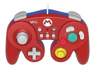 Hori Battle Pad Para Wii U (versión De Mario) Con Turbo - Ni