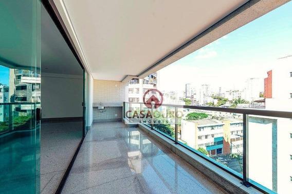 Apartamento 4 Quartos Á Venda No Sion, Belo Horizonte. - Ap0813