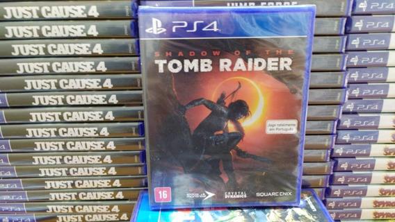 Shadow Of The Tomb Raider Ps4 100% Em Português Mídia Física