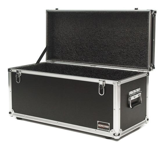 Hard Case Baú Acessórios E Cabos 70x30x30 Cm