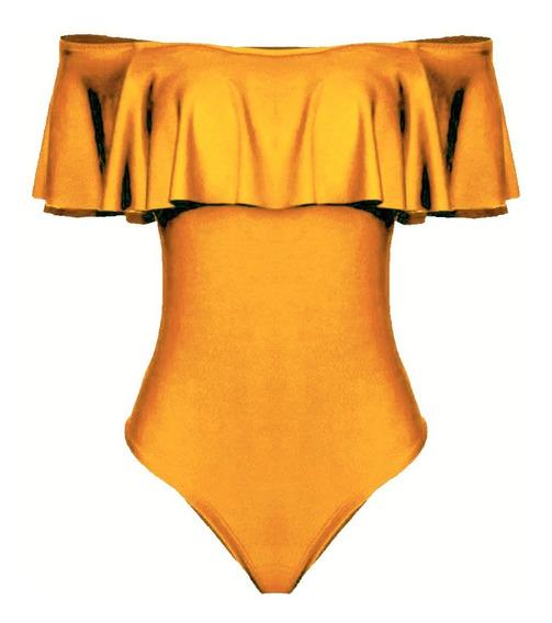 Body Feminino Top Roupa Babado Ciganinha Gg Plus Size Barato