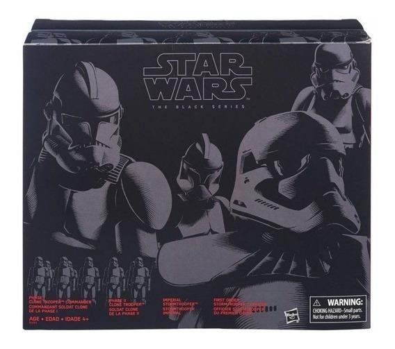 Stormtrooper & Clone Evolution Star Wars Black Series 4pack