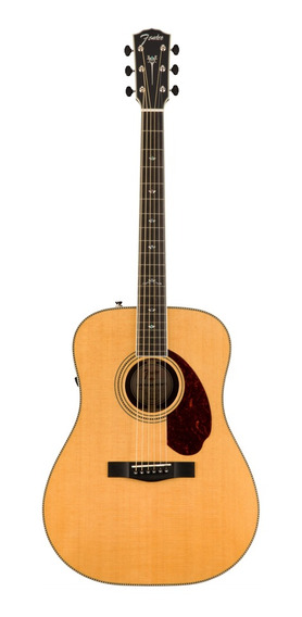 Guitarra Electroacustica Fender Pm1 Paramount Dlx Fishman