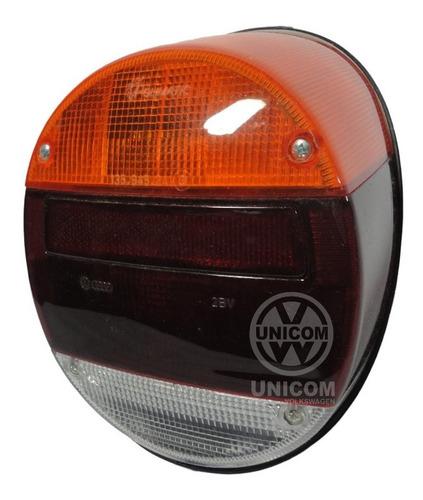 Lanterna Fafa Tricolor 79/ Unica Original C/ Logo Vw C/ Micro Fissura
