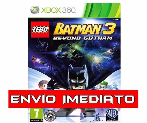 Lego Batman 3 Xbox 360 - Mídia Digital
