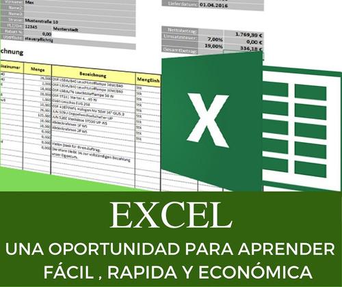 Imagen 1 de 4 de Excel - Clases Y Cursos - Particulares Y Empresas -