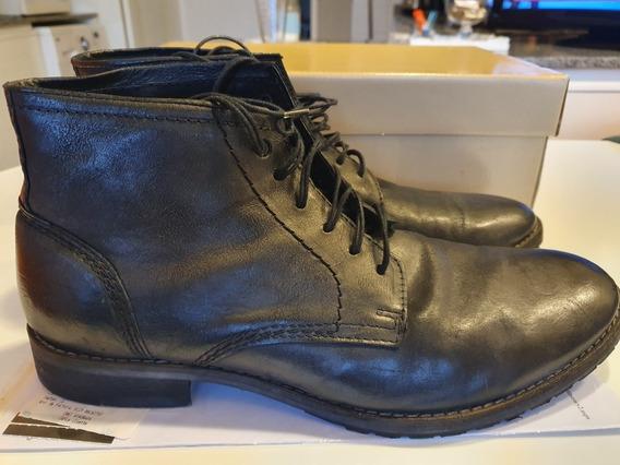 Zapatos De Hombre Tipo Bota De Cuero Marca Diesel Talle 44