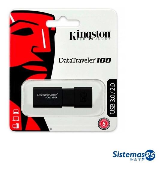 Pendrive Kingston 64gb Datatraveler 100 G3 Usb 3.0