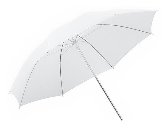 Sombrinha Difusora Rebatedora Branca 83cm