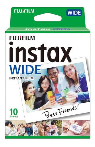 Imagen 1 de 4 de Fujifilm Cartucho Instax Wide Iso 800 10 Hojas