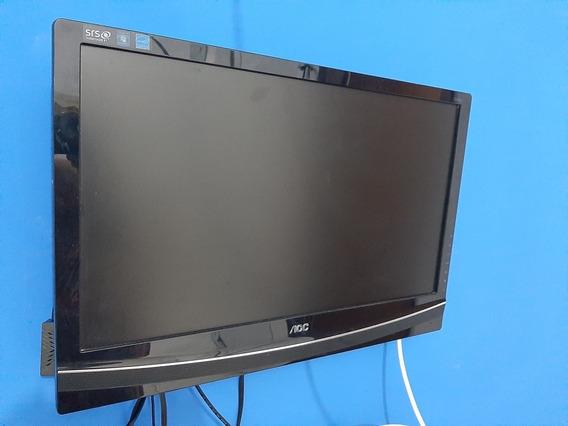 Tv Led 24 Aoc Modelo: T2442e