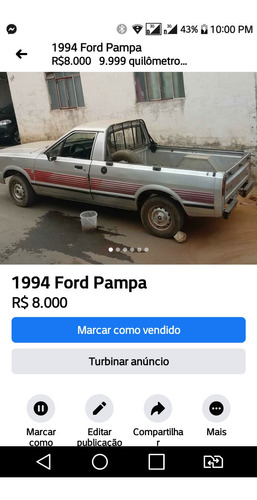 Ford Pampa Cl
