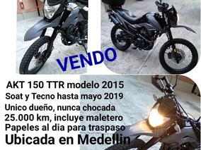 Akt Ttr 150 En Medellin