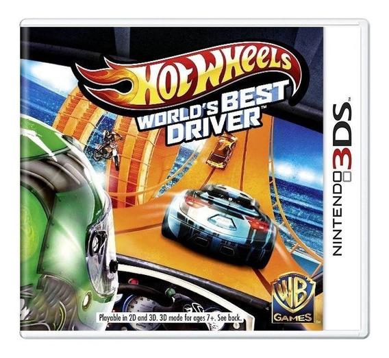 Hot Wheels Worlds Best Driver 3ds Mídia Física