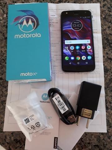 Moto X4 De 64gb Zerado !