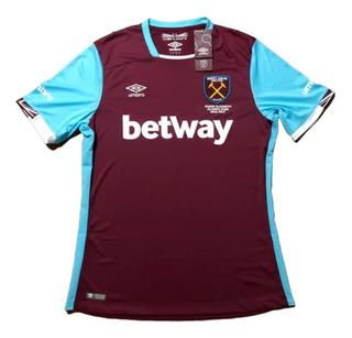 Camisa West Ham 2016/2017 Umbro Sambaquifut