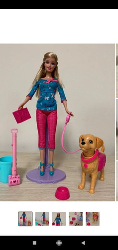 Barbie Com Cachorro Que Faz Cocô