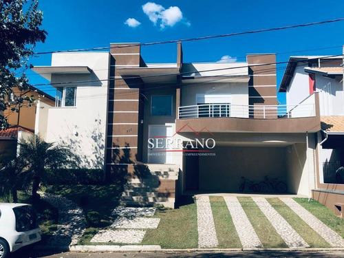 Casa Com 3 Dormitórios À Venda, 240 M² Por R$ 1.380.000,00 - Condomínio Villagio Capriccio - Louveira/sp - Ca0729