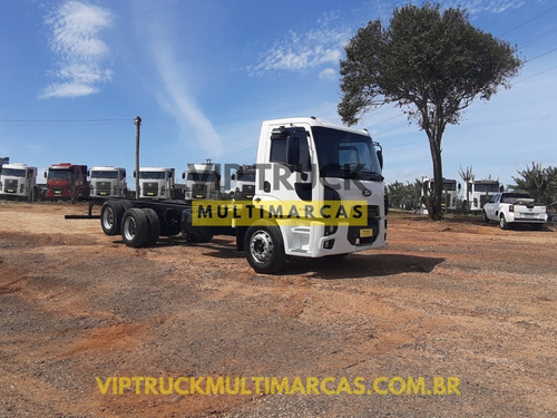 Imagem 1 de 15 de Ford Cargo 2428 Truck 6x2 Ano 2012 No Chassis