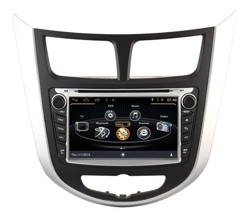 Radio Navi Nuevo Hyundai I25  Android 4.4.4 Gps Bluetooth