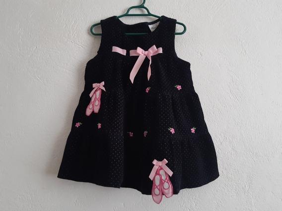 Vestido Rare Editions Niña Talla 3 Zapatillas Bailarina