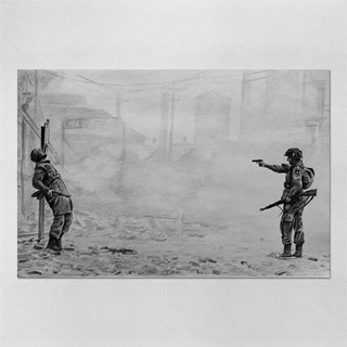 Poster 60x90cm Seriados Series Band Of Brothers 6