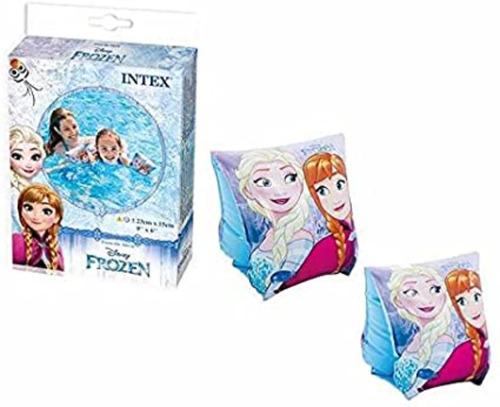 Bóia De Braço Disney Frozen De Luxo - Intex