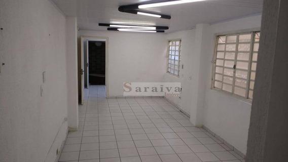 Casa Para Alugar, 150 M² Por R$ 1.500,00/mês - Jardim Hollywood - São Bernardo Do Campo/sp - Ca0098