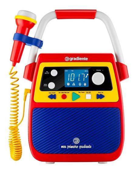 Rádio Portátil Meu Primeiro Gradiente, Lenoxx, Rádio Fm, Usb