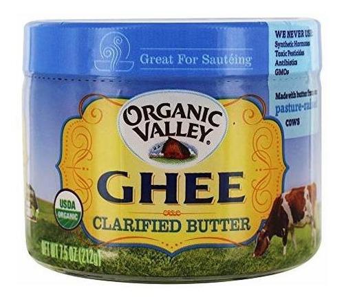 Pureza Granja Ghee (mantequilla Clarificada), 7,5 Onzas.