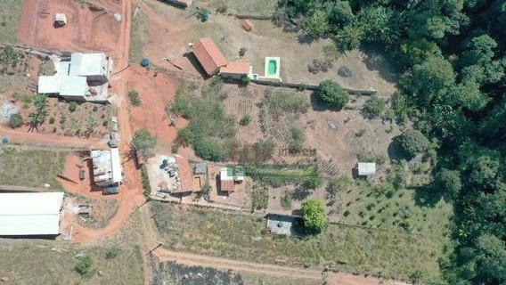 Chácara Com 1 Dormitório À Venda, 1180 M² Por R$ 100.000,00 - Capim Da Angola - Paraibuna/sp - Ch0306