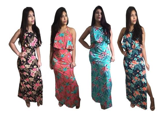 Vestido Longo Feminino Moda Evangélica Roupas Femininas