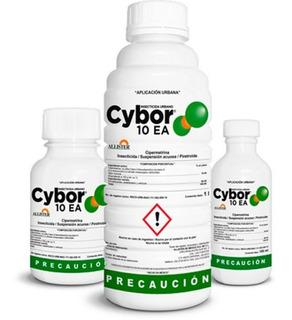 Insecticida Cybor 10ea 1 Litro, Cipermetrina Plagas Urbanas